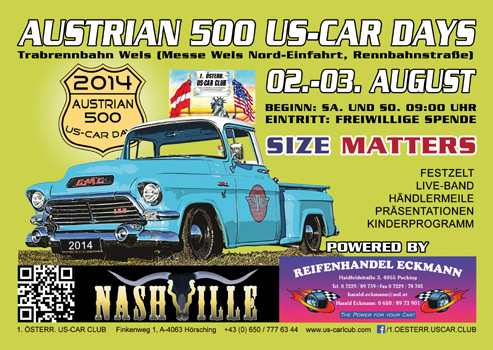 AUSTRIAN 500 US-CAR DAYS 2014