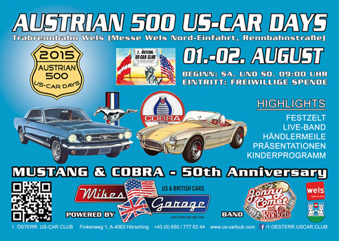 AUSTRIAN 500 US-CAR DAYS 2015