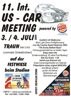 Traun 500 US-Car Days 2004