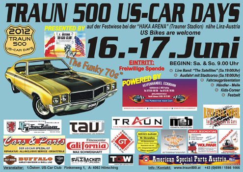 TRAUN 500 US-CAR DAYS 2012
