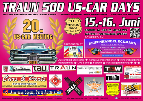 TRAUN 500 US-CAR DAYS 2013